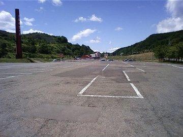 花畑牧場駐車場